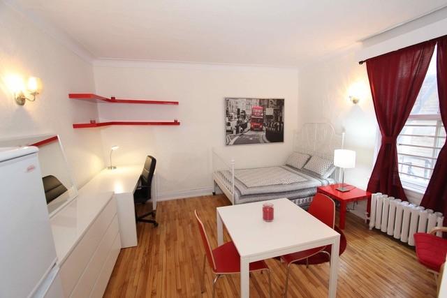 Studio Apartment Montreal 3429 rue saint-andré, montréal, qc h2l 3v4 - studio apartment for